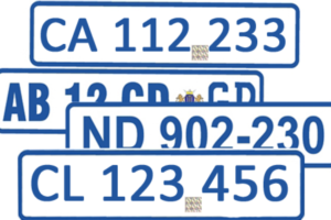 SABS Approved Number Plates